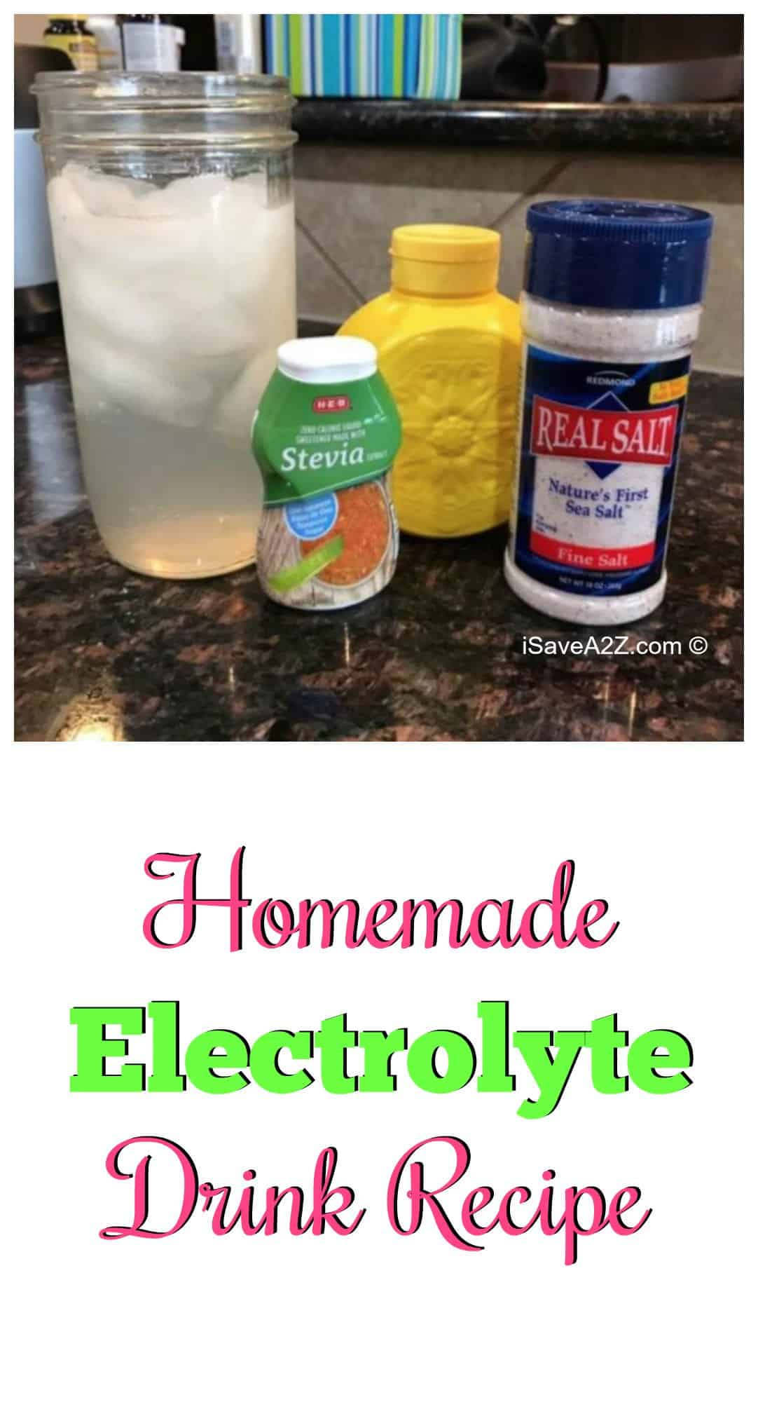 If you are on the keto diet and suffer from headaches, try this homemade electrolyte drink recipe! When I was getting started on the ketogenic diet, it helped me so much!