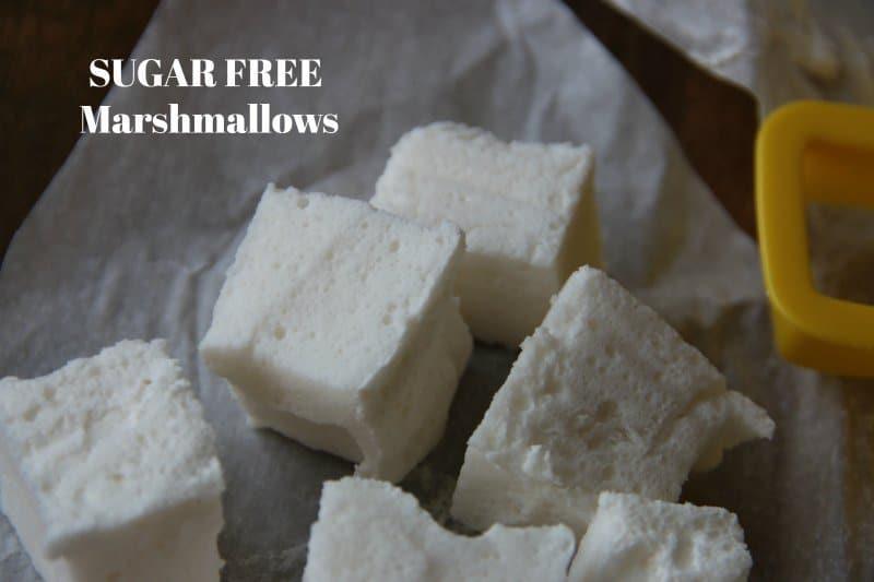 SUGAR FREE Chocolate Covered Marshmallows