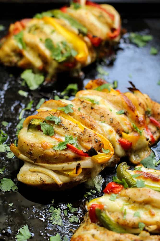 Cajun Hasselback Chicken - Keto Chicken Recipe