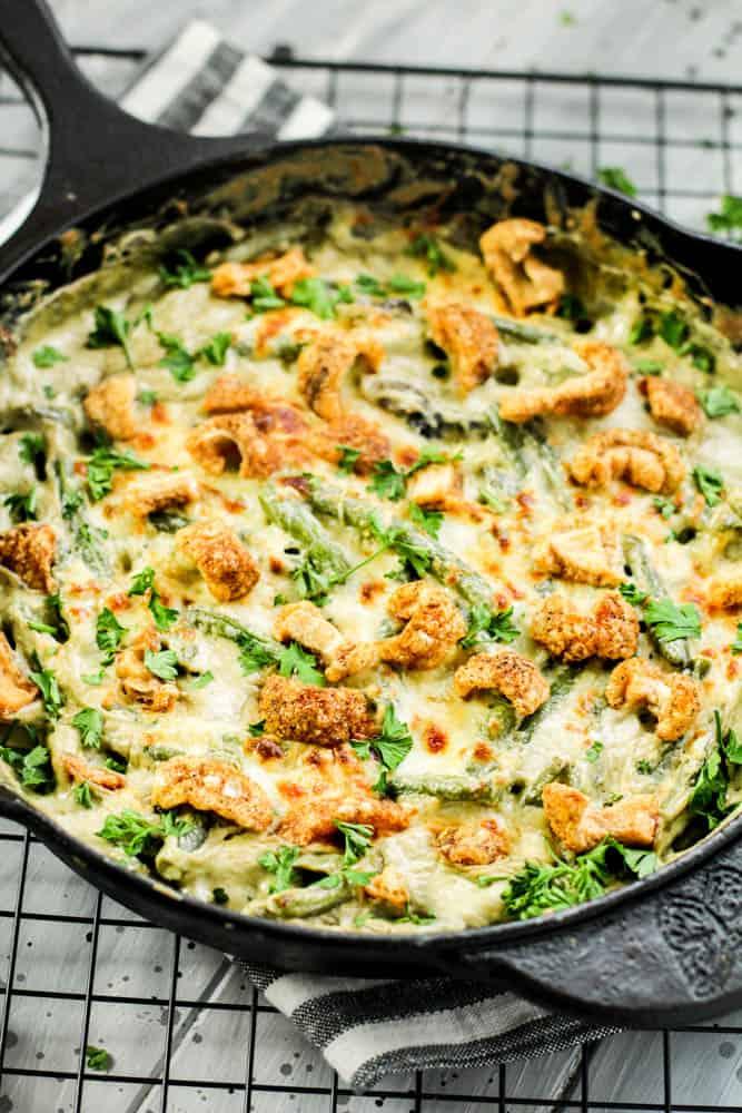 Keto Green Bean Casserole Recipe