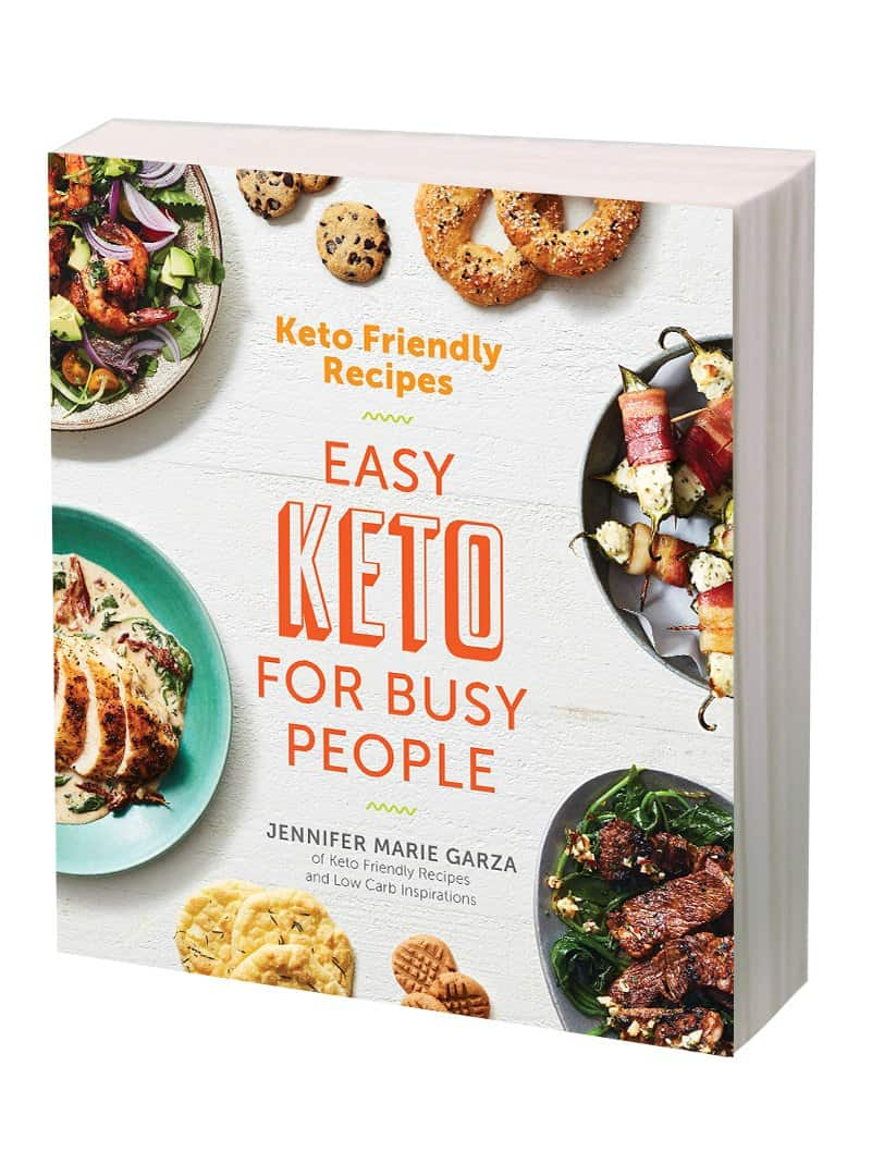 Keto Friendly Recipes Cookbook