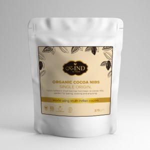Kauma Organic Cocoa Nibs (375gm)