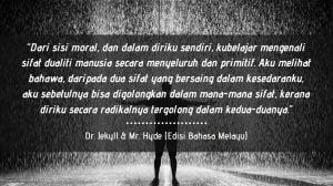 Ulasan Buku : Dr. Jekyll & Mr. Hyde (Edisi Bahasa Melayu)