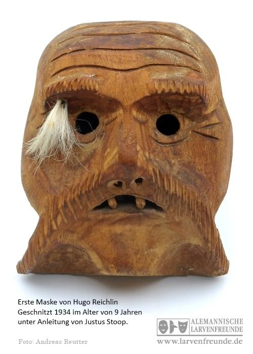 Erste Maske Hugo Reichlin