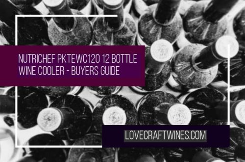 NutriChef PKTEWC120 12 Bottle Thermoelectric Wine Cooler Review