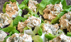 Tasty Tuna Lettuce Wraps