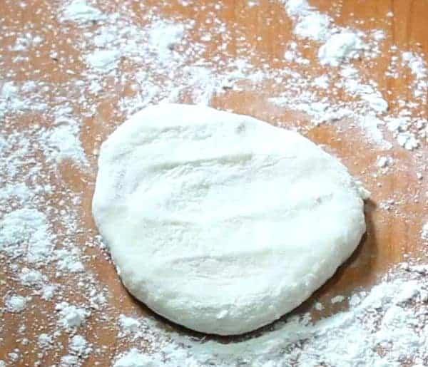Garlic Naan on Tawa