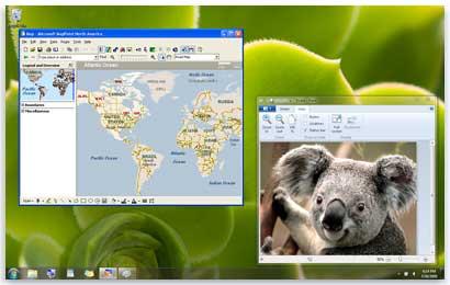 Programs can run in both Windows XP Mode and in Windows 7