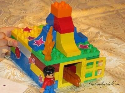 Make and Bake with LegoDuplo