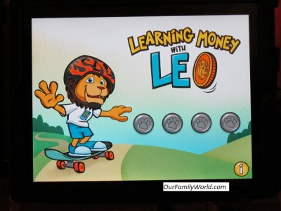 Learning Money with Leo App