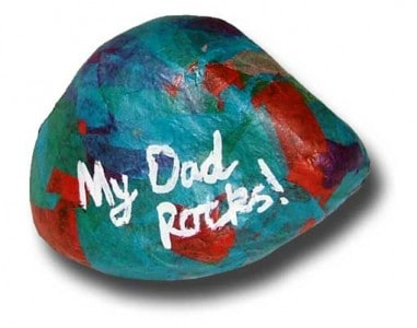 dad-rock craft for kids