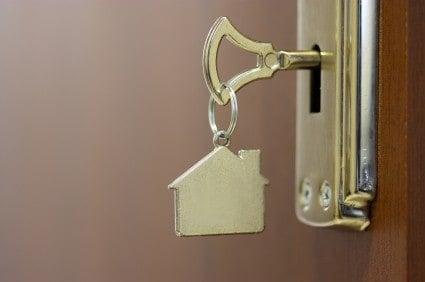 Best home security tip: lock the door