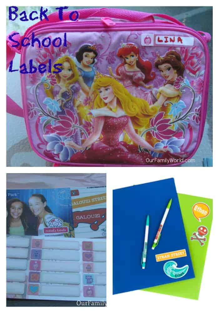 Back To School Labels with Mabel Labels- OurFamilyWorld