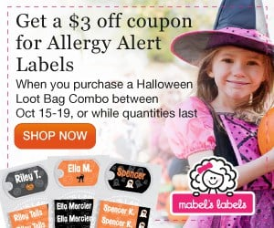 $3Off coupon for Allergy alert labels