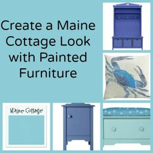 Create a Maine Cottage Look with Painted Furniture