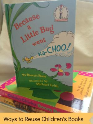 Ways to Reuse Childrens Books