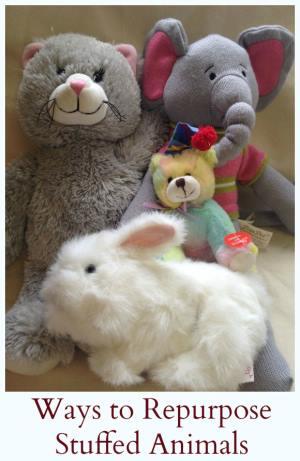Ways to repurpose stuffed animals