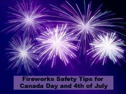 Fireworks Safety for the familiy
