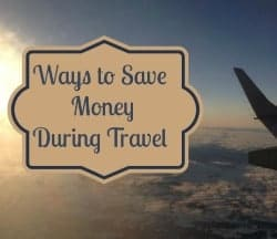 Save Money During Travel