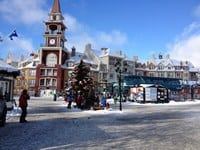Mont-Tremblant during Christmas Holidays