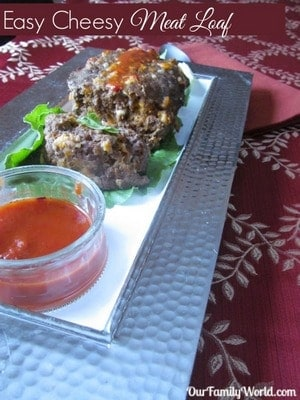 Easy Cheesy Meat Loaf Recipe