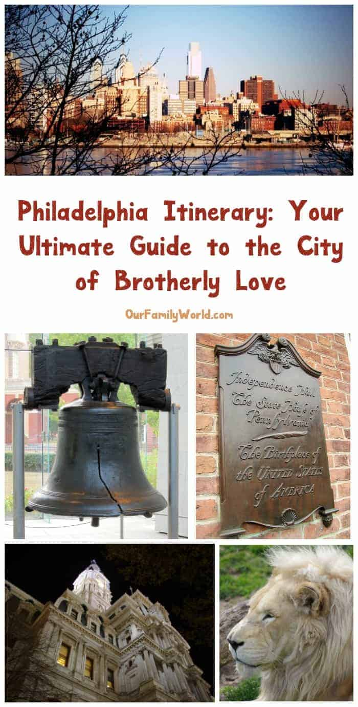 Planning to visit Philly? Check out all the must-see sites for your three-day itinerary! From history to zoos to coffee, you'll see it all in Philly!