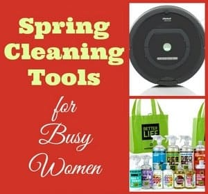 Spring Cleaning Tools for Busy Women
