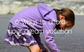 Save money on family vacation expenses