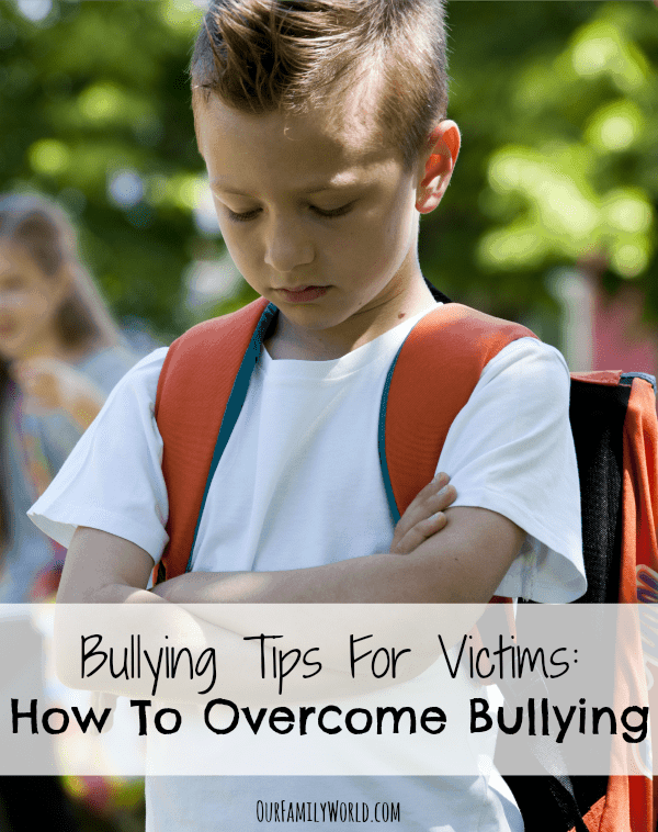 Bullying Tips For Victims