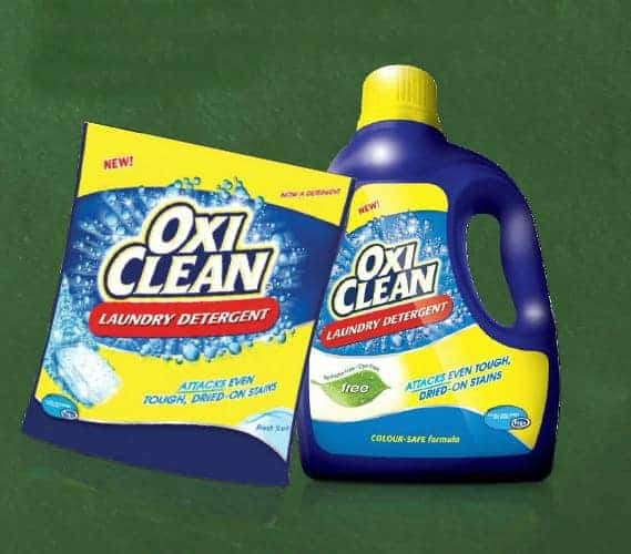 ABCs of Laundering from OxiClean