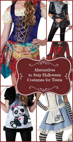 Alternatives Sexy Halloween Costumes for Kids