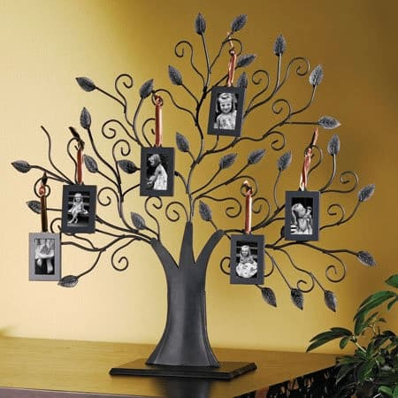 Family Tree Picture Frame | Gift Ideas for Grandparents