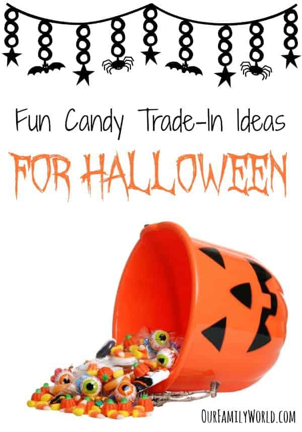Fun Candy Trade-In Ideas For Halloween