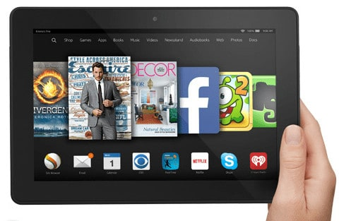 Kindle Fire HDX 8  One of the best Gift Ideas for Travelers this Christmas