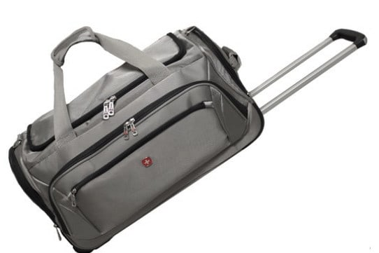 Swiss Gear Zurich Rolling Duffle Bag One of the best Gift Ideas for Travelers this Christmas