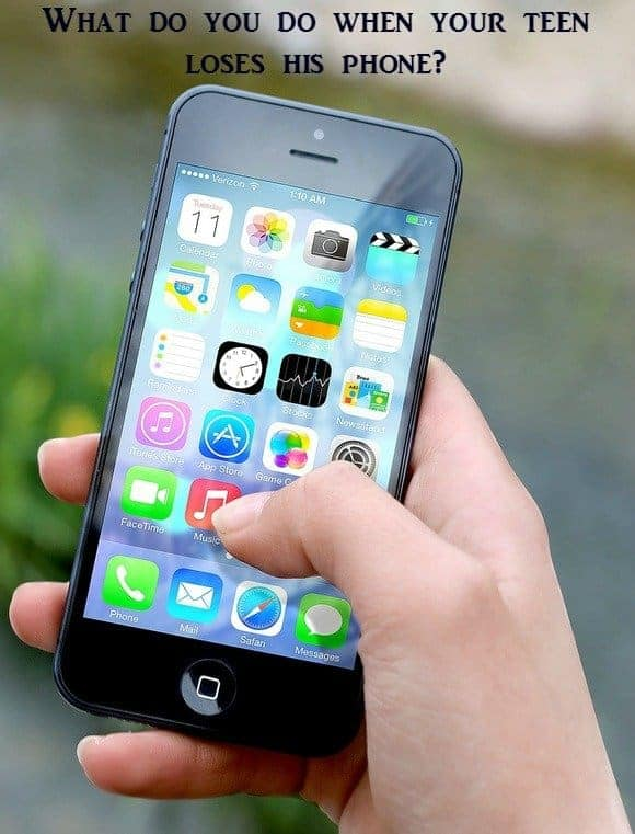 Parenting Tips: My Teen Lost His Phone