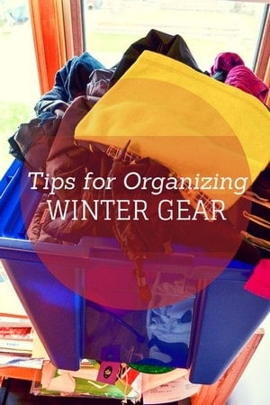 Don't let your kids miss out on all the winter wonderland fun while you search for their boots and mittens! Check out our tips for organizing your children's winter gear!