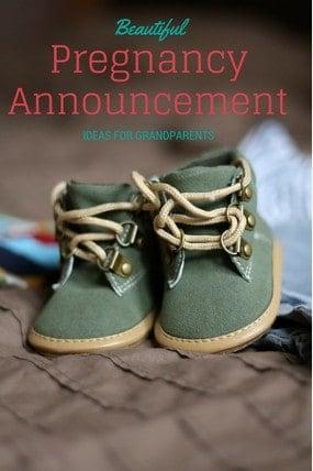 Pregnancy Announcement Ideas for Grandprents