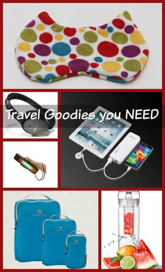Tis the season for family travel! We have some travel tips today that will make your life MUCH easier: 6 must-have travel accessories.