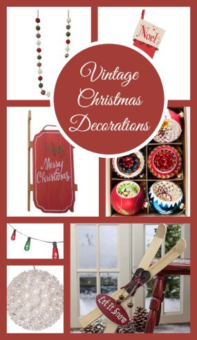 This year, go back in time with these 9 Must Have Vintage Christmas Decorations. Not only are they classic to some of the best retro holiday decorations out there, they are going to be safer for your family