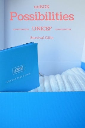 unBOX possibilities and help children in need with UNICEF survival gifts. These gift ideas truly give back to communities around the world and help inspire the spirit of social good in your own children.