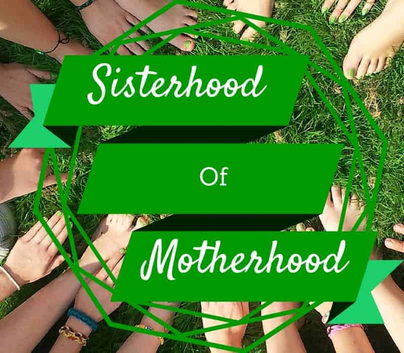 Let's work together to stop mom-on-mom bullying and instead join the sisterhood of motherhood! Together, we can support each other in our goals!