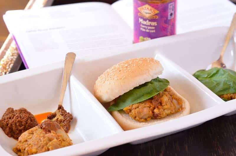 Spicy Indian Vegetarian Burger Recipe