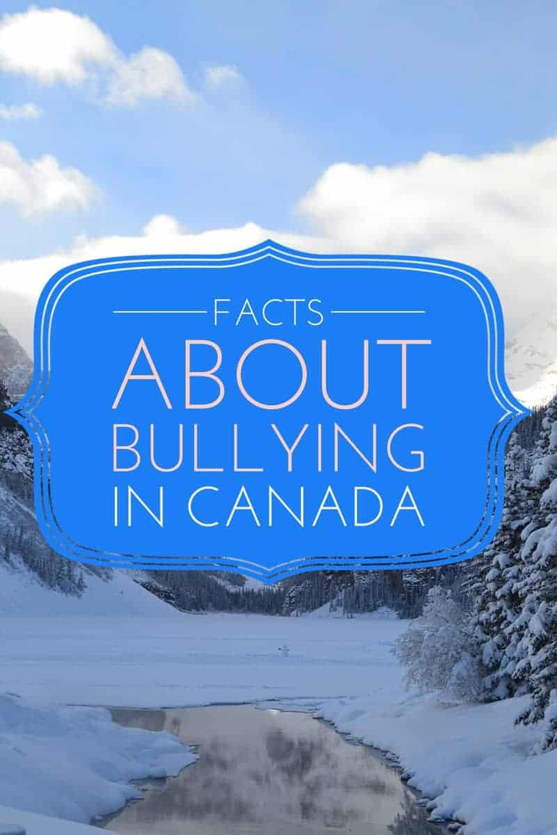 Looking for bullying facts in Canada to help teach your kids about bullying prevention or back up your homework assignment? Check out these 14 facts!