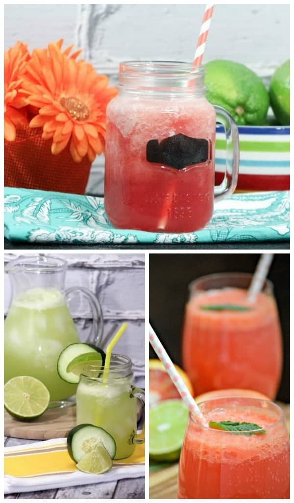 Picnic drinks: Summer lime water recipes