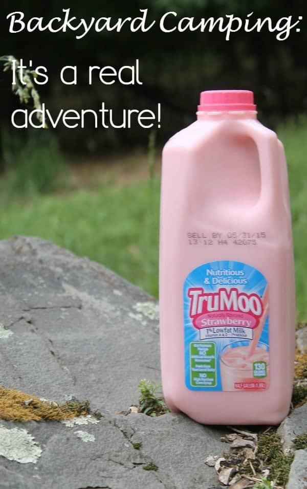 Make backyard camping a real adventure for your family with our tips, including a delicious TruMoo milk shake that needs no ice-cream or blender!