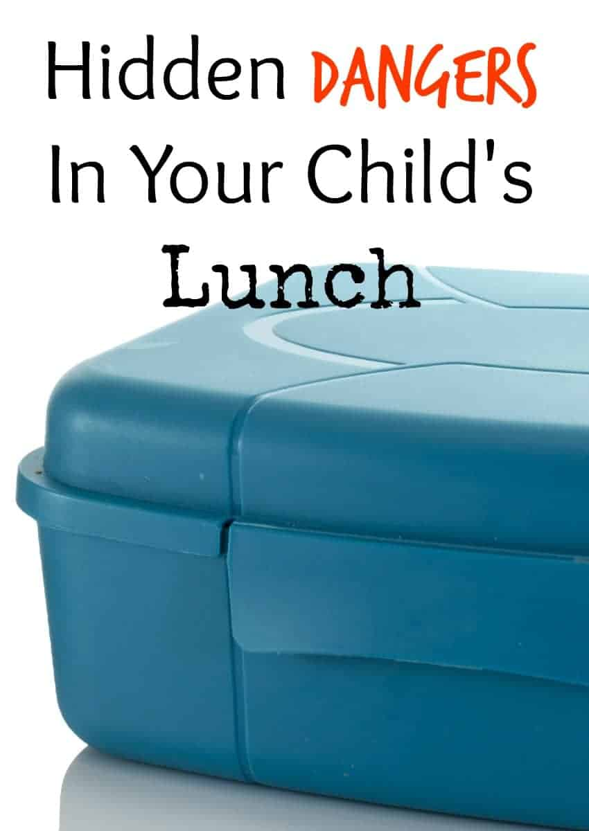 Wondering about hidden dangers in your child's lunch as you prepare to send them back to school? Check out the things you should leave out of the lunchbox!