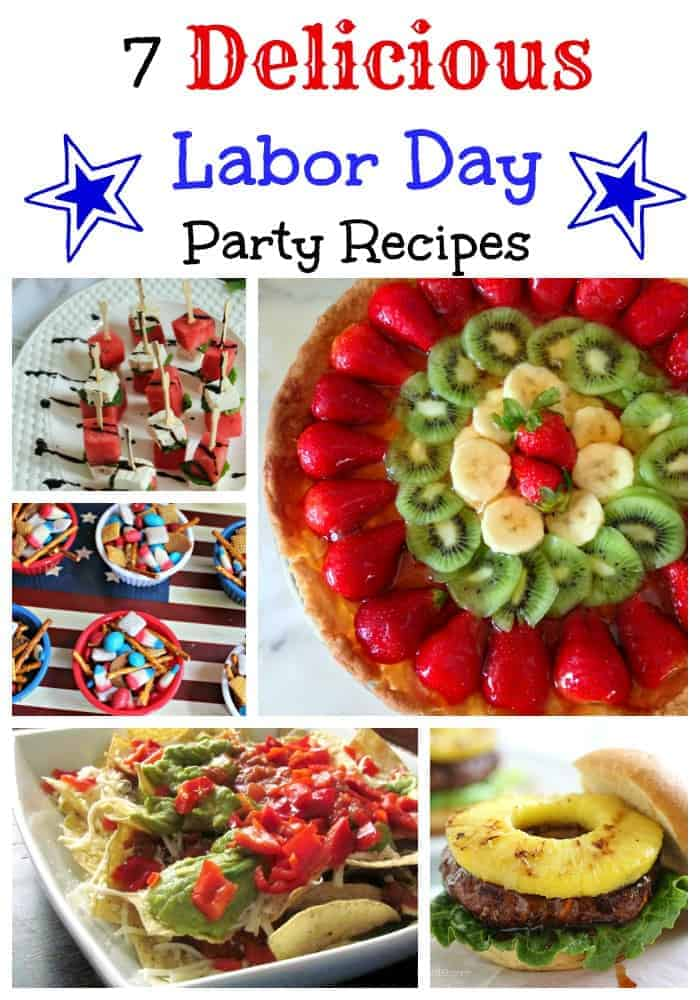 Celebrate the end of summer with some of our easy and delicious recipes. This roundup of Labor Day party recipes is sure to please kids and adults alike at your party.