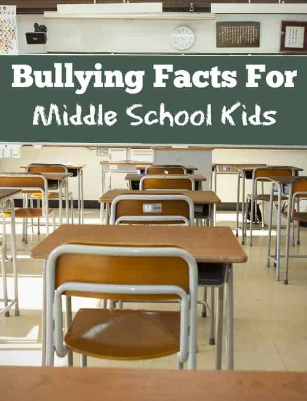 Bullying Facts For Middle School Kids
