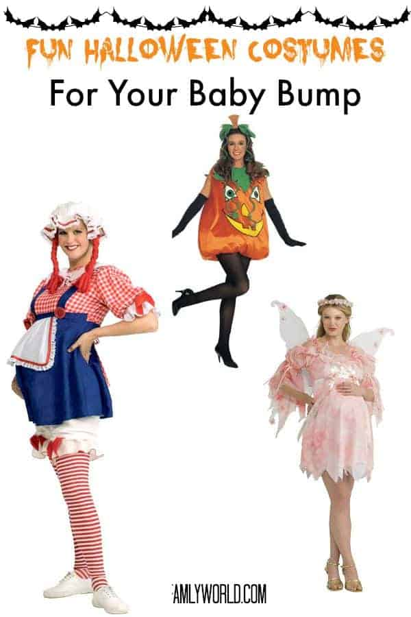 Looking for fun ways to dress up your baby bump this year? Check out our favorite Halloween maternity costumes, from classy to hilarious!